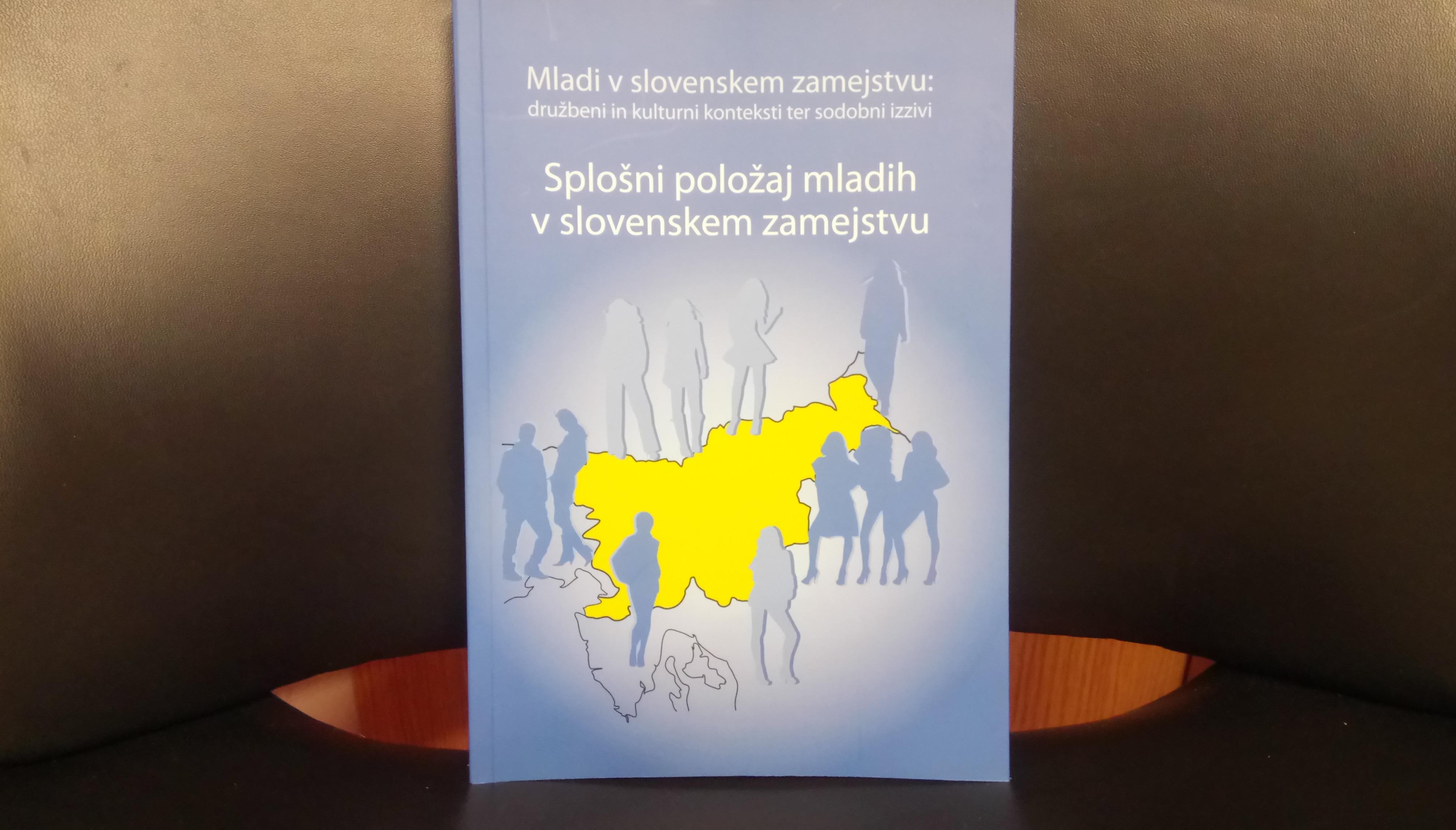 Pogovor o monografiji Splošni položaj mladih v slovenskem zamejstvu