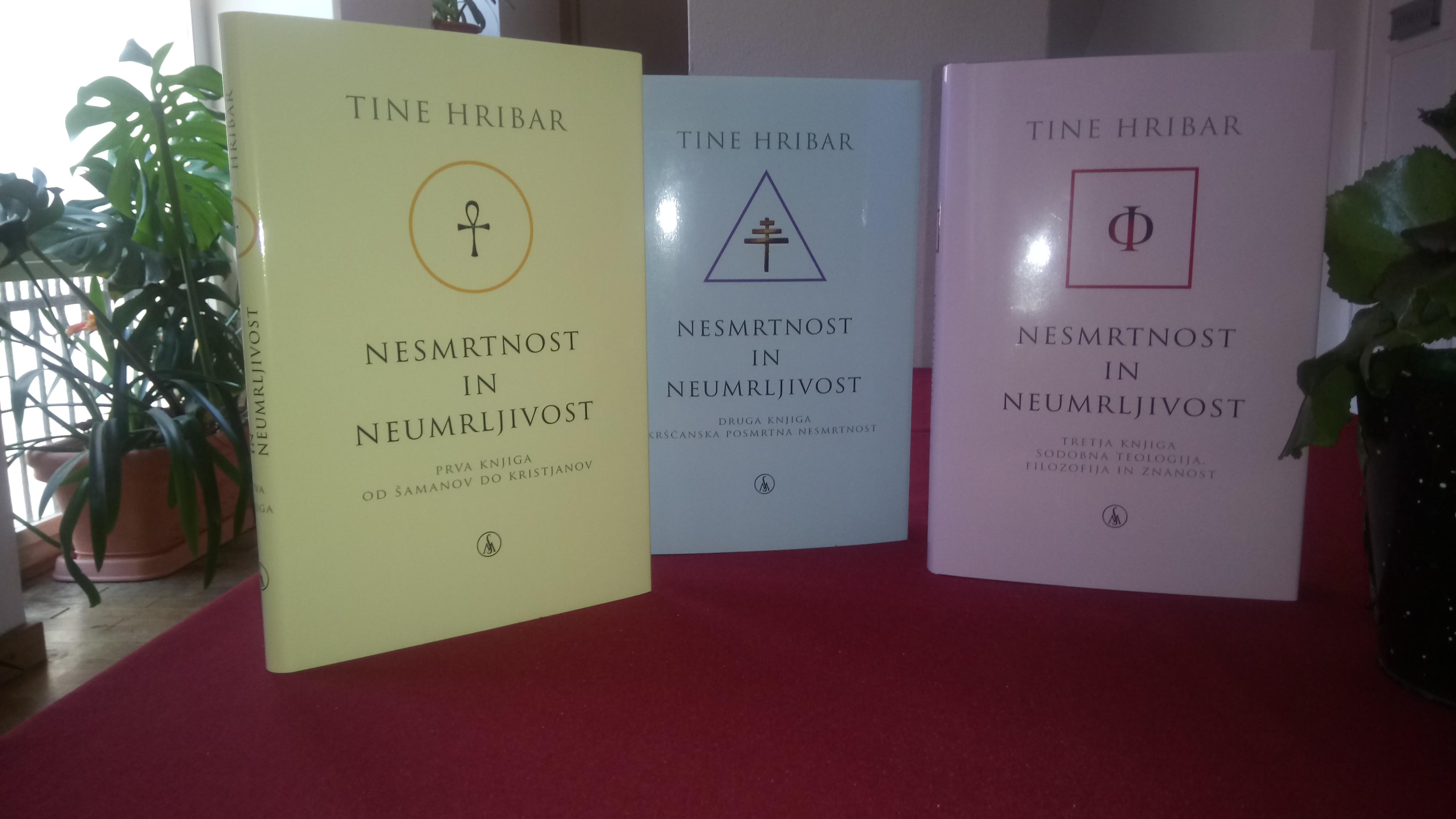 Pogovor o filozofski trilogiji Nesmrtnost in neumrljivost akad. prof. dr. Tineta Hribarja