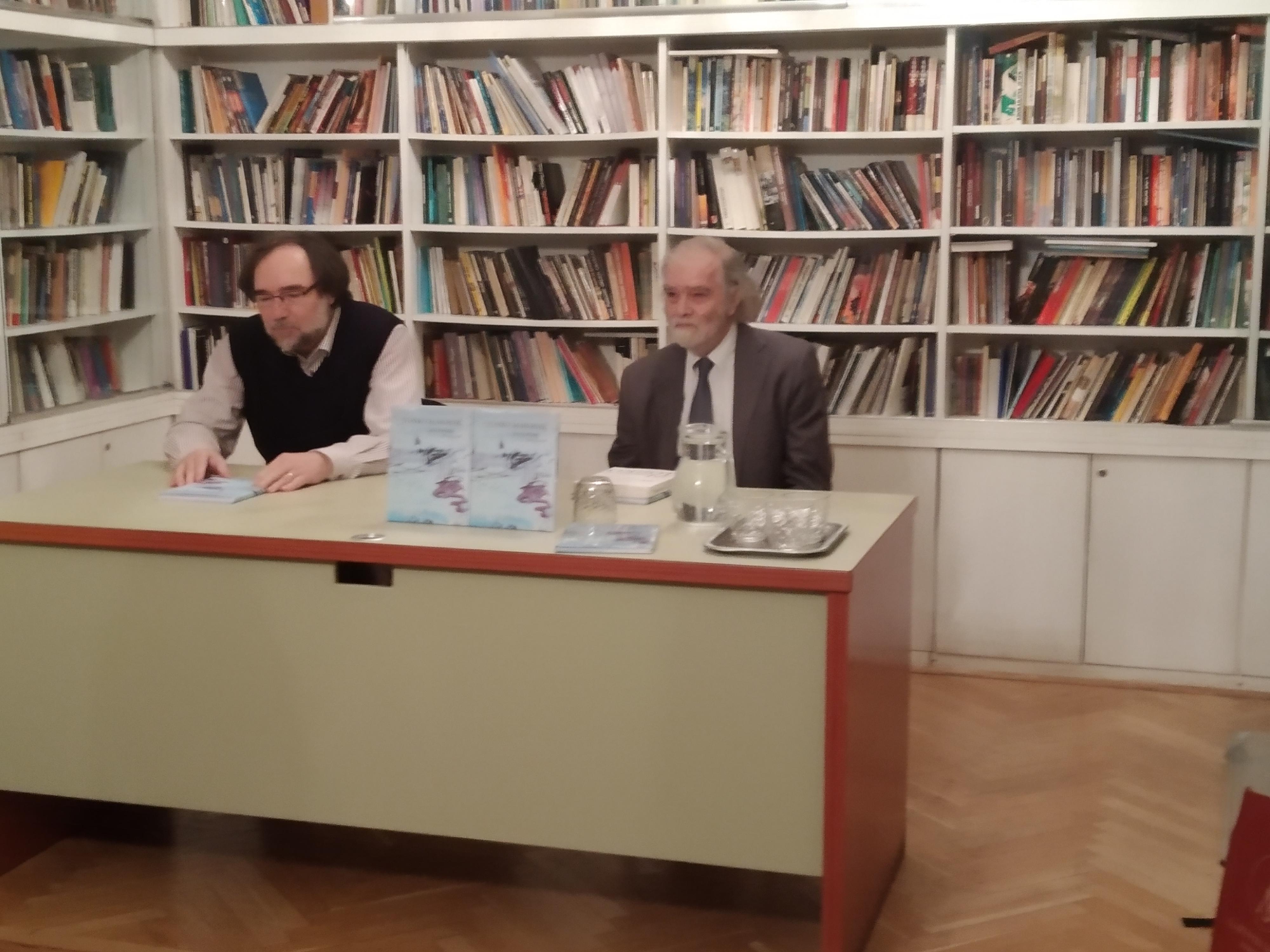 Tonko Maroević - gost v Ljubljani