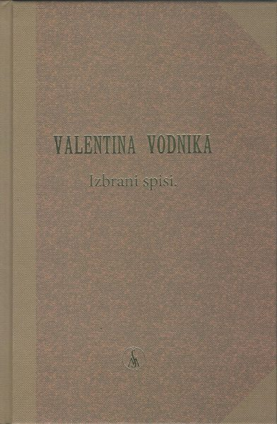 ValentinaVodnikaIzbraniSpisi