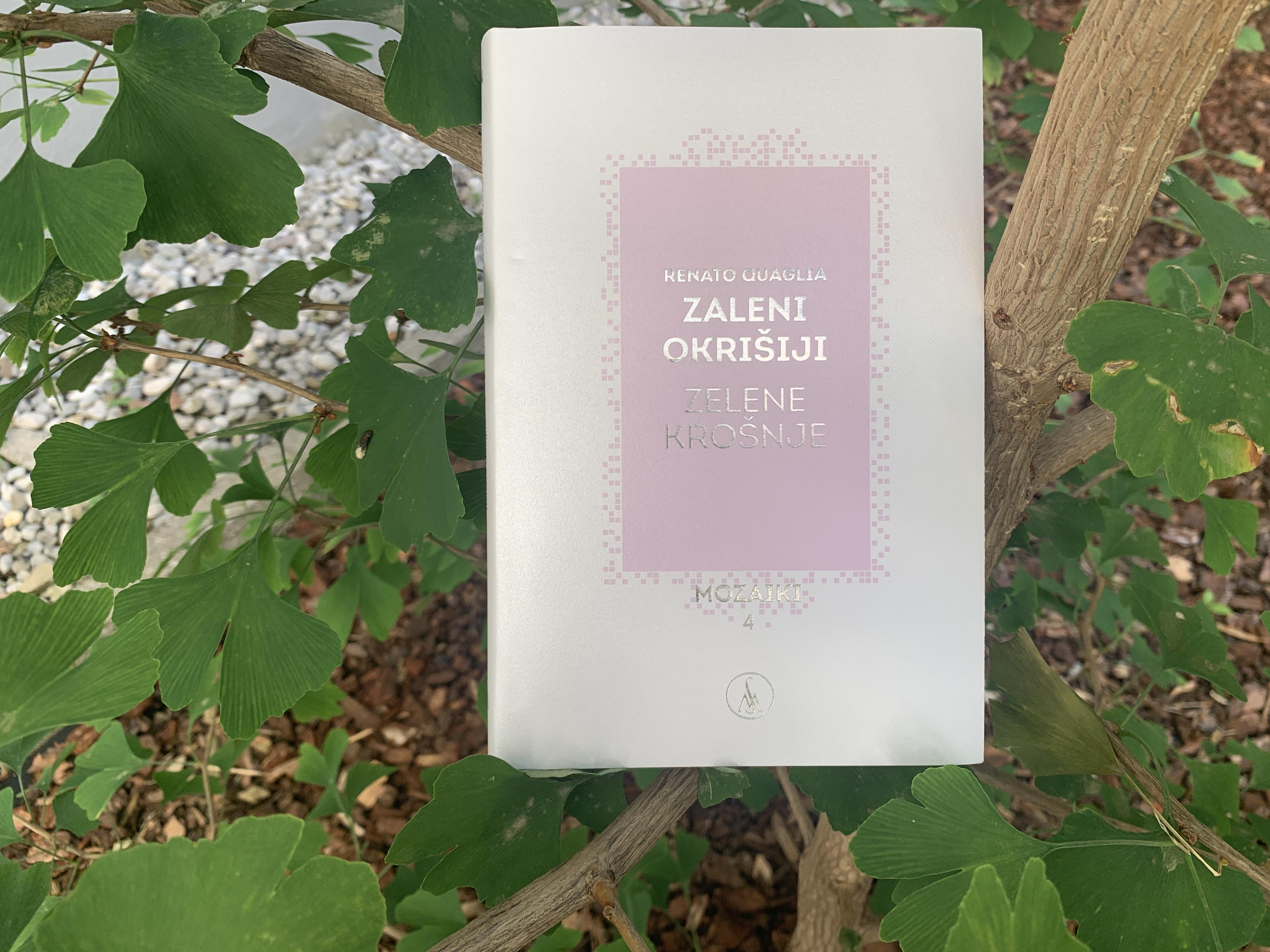 Predstavitev pesniške zbirke Zaleni okrišiji/Zelene krošnje Renata Quaglie